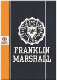 Franklin & Marshall boy's A4 elastomap oranje (9866)