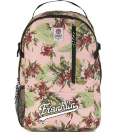 "Franklin & Marshall girls rugzak ""flowers"" (4169)"
