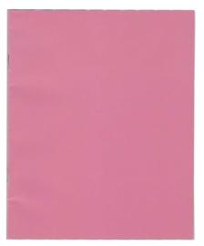 A5 schrift lijn roze PP-kaft
