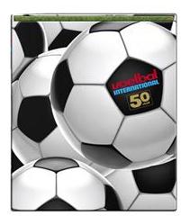 Voetbal international ringband 23r 50 jaar (4556-i1)
