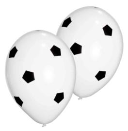 Voetbal luchtballonnen