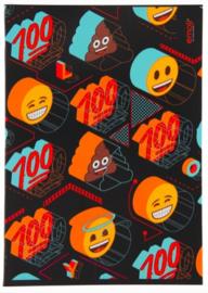 Emoji boy's A4 wiskundeschrift (5703)