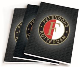 Feyenoord A5 schriften antraciet lijn (7288)