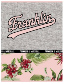 Franklin & Marshall girls A4 schrift geruit (3345)
