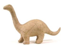 Kraft brontosaurus papier maché