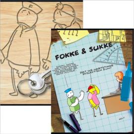 Fokke en Sukke A5 schriften (0740)
