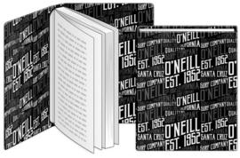 Dresz O'Neill rekbaar boekenkaft zwart/wit A4 (6783)