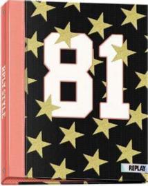 Replay girls ringband 2r gouden sterren (2828)