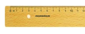 Rumold liniaal 30cm hout