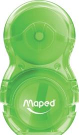Maped loopy gum/puntenslijper combi groen (1116)