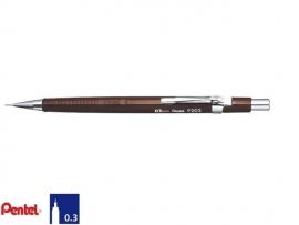 Pentel P203 0,3mm vulpotlood bruin