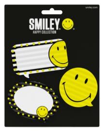 Smiley happy sticky notes notitie blaadjes
