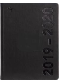 Ryam studie agenda de luxe 2019-2020 compact (rood/blauw/zwart) (8343)