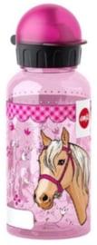 Drinkfles kunststof paard (9609)
