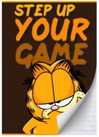 Garfield boy's A4 schrift lijn zwart/bruin (0449)