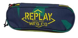 Replay etui aktie geel/groen (3238)
