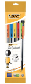 Bic Matic original 0,7mm vulpotloden set 5st (5275)