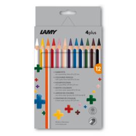 Lamy 4plus kleurpotloden 12st in karton (0077)