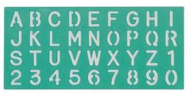 Linex lettersjabloon 20mm (2007)