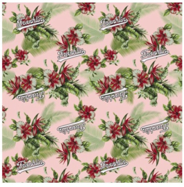 Franklin & Marshall girls kaftpapier (flowers) (3390)