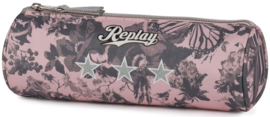 Replay girls etui pink rond (0646)