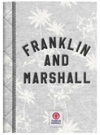 Franklin & Marshall A4 schrift grijs geruit (4062)