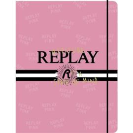Replay girls elastomap roze (4656)