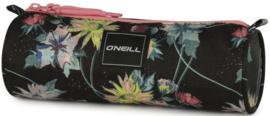 O'Neill etui bloemen motief donker (4770)