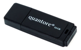 USB 2.0 stick zwart 32GB (3600)
