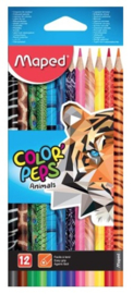 Maped colorpeps animals kleurpotloden (2122)