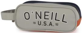 O'Neill boy's etui tekst grijs rechthoek (9637)