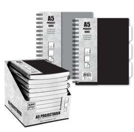 Projectboek / collegeblok A5 120v