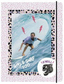 "O'Neill Girls elastomap A4 ""girls surf too"" (4106)"