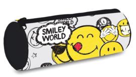 Smileyworld etui wit rond (tekstballon)