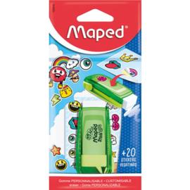 Maped stick art gum groen