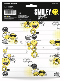 Smileyworld etiketten wit (8576)