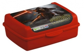 Star Wars lunchbox middel rood (9919)