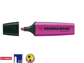 Stabilo Boss markeerstift lilla