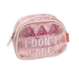 Emoji girls etui roze (9336)