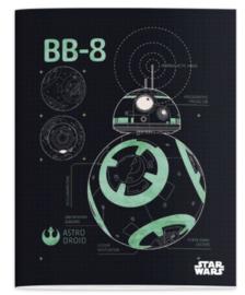 Star Wars A5 lijntjes schriften (4384)