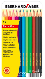Eberhard Faber kleurpotloden in blik (8139)