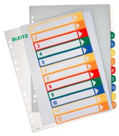 Leitz 2-4r tabbladen printbare tabs (8489)