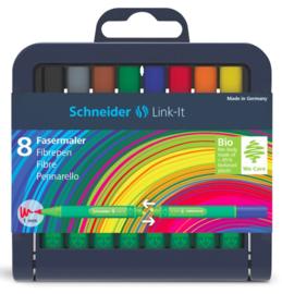 Schneider 8x Link it viltstift (9217)