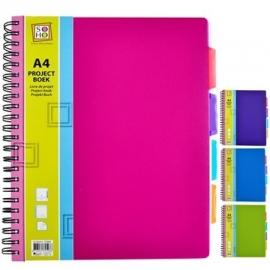 Projectboek / collegeblok A4 200 vel