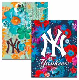 "New York Yankees girls A5 schriften ""flowers"" (1862)"