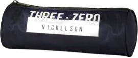 Nickelson etui zwart wit 30 rond (0025)
