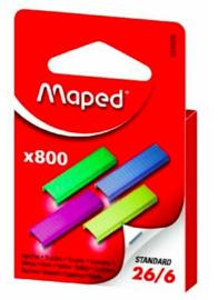 Maped gekleurde 26/6 nietjes (8069)