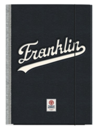 Franklin & Marshall elastomap grijs/antraciet (0553)