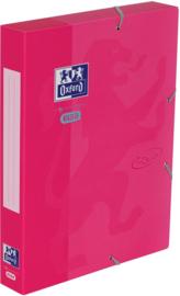 Oxford Touch elastobox roze (4412)