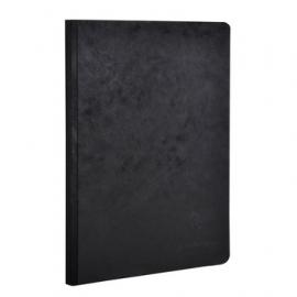 Notitieboek A5 blanco zwart